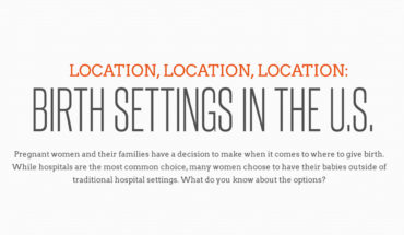 Birth Setting Options in the US: What Works Best - Infographic