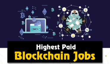 Highest Paid Blockchain Jobs - Infographic