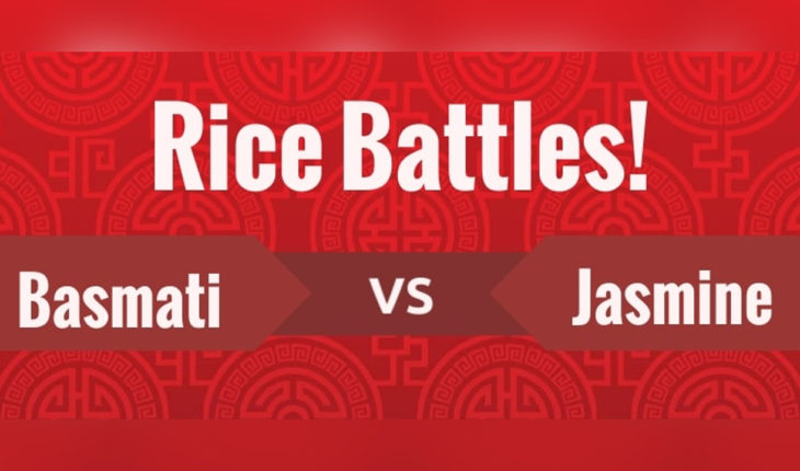 The Battle of Basmati Rice Vs Jasmine Rice - Infographic