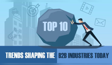 Top 10 Trends Shaping the B2B Industries Today - Infographic