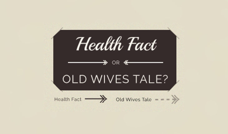 True or False? Various Food-Myths Demystified - Infographic
