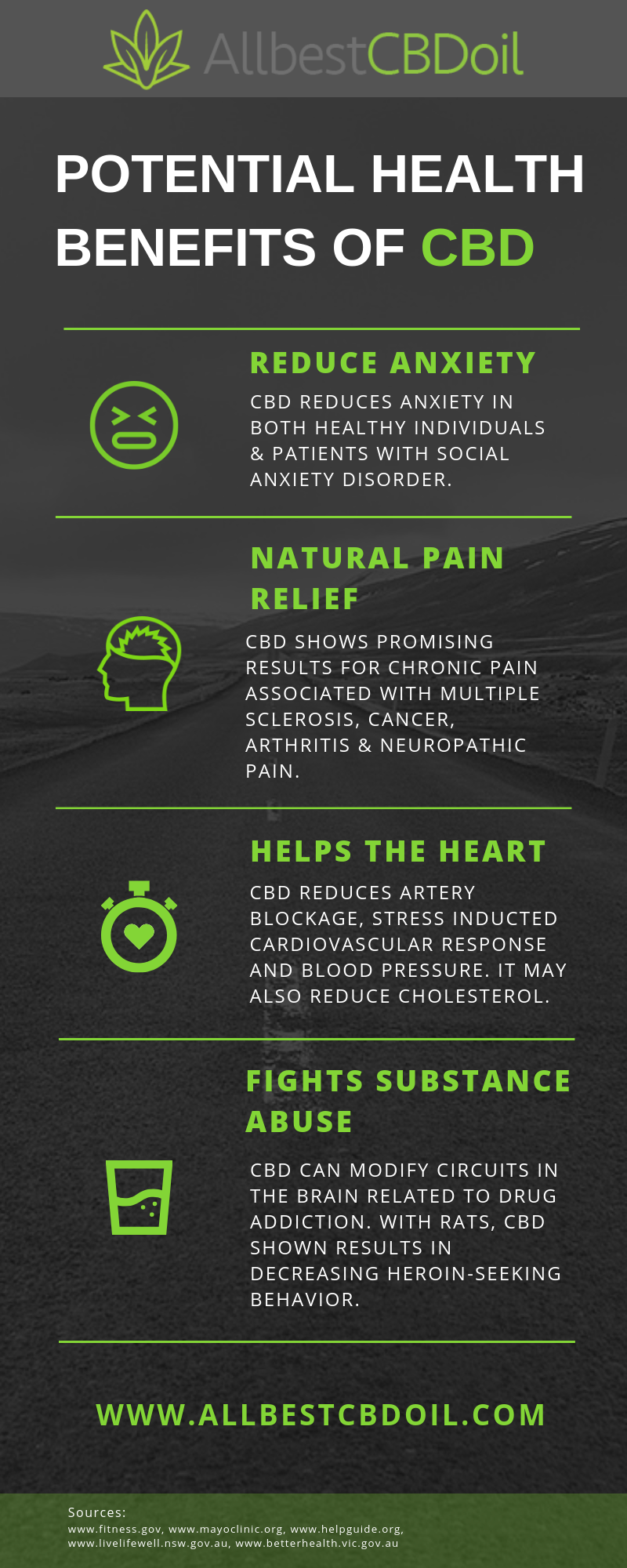 Four Reasons Why CBD Oil is Beneficial - Infographic