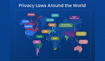 How Privacy Laws Around the World Are Protecting Internet Users - Infographic