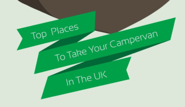 The Top Six Campervan Destinations in the UK - Infographic