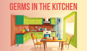 Your Kitchen is a Germ-Paradise: How to Do Germ-Free Cleaning - Infographic