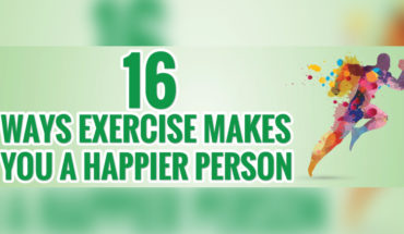 16 Ways to Build Your Happiness Quotient with Exercise - Infographic