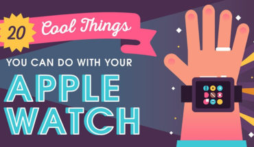 20 Cool Things You Can Do with Your Apple Watch - Infographic