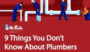9 Things You Don't Know About Plumbers - Infographic