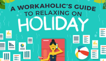 How to Switch Off Work When on Vacation: A Workaholics Guide - Infographic
