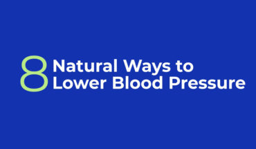 Natural Ways To Lower Blood Pressure - Infographic