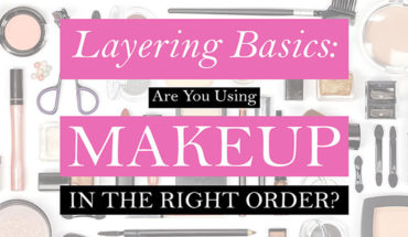 The Right Order to Layering Makeup: A Concise Guide - Infographic