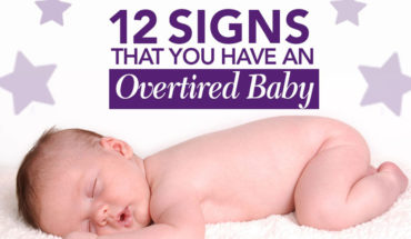 12 Signals Your Baby Sends Out When Overtired - Infographic