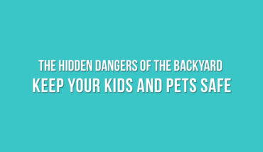 Backyard Dangers and How to Keep Your Family Safe - Infographic