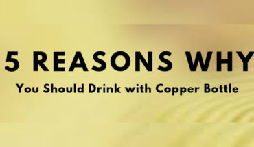 Drink Water from a Copper Bottle: 5 Reasons Why - Infographic