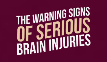 How to Read the Warning Signs of Brain Injury - Infographic