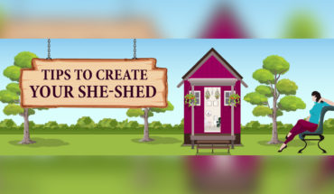 The Rise of the She-Shed and How to Create Your Own Perfect Shed - Infographic