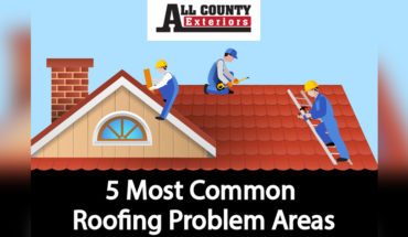 Roof Maintenance: 5 Most Common Problem Zones - Infographic
