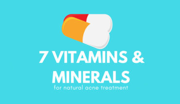 Treating Acne Naturally: 7 Anti-Acne Vitamins & Minerals - Infographic