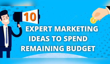 10 Key Marketing Ideas That Should Be Incorporated in Your Marketing Budget - Infographic