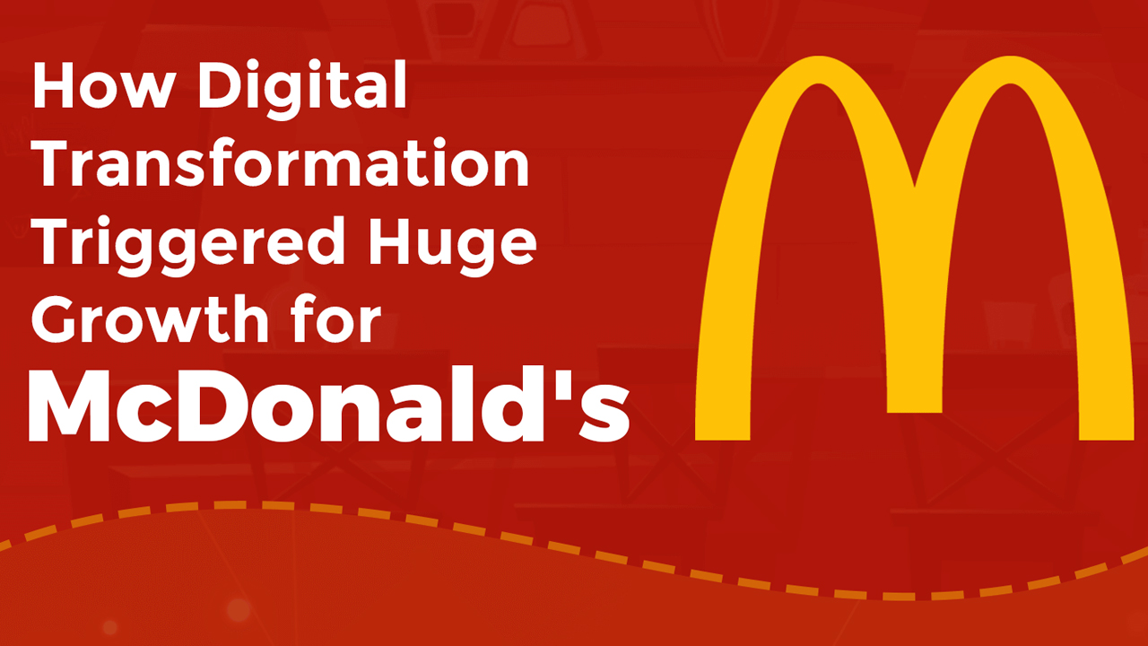 Building for the Future: McDonald's Story of Digital Transformation - Infographic
