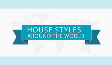 Diverse House Styles Around the World - Infographic