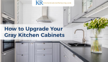 How To Upgrade Your Gray Kitchen Cabinets - Infographic