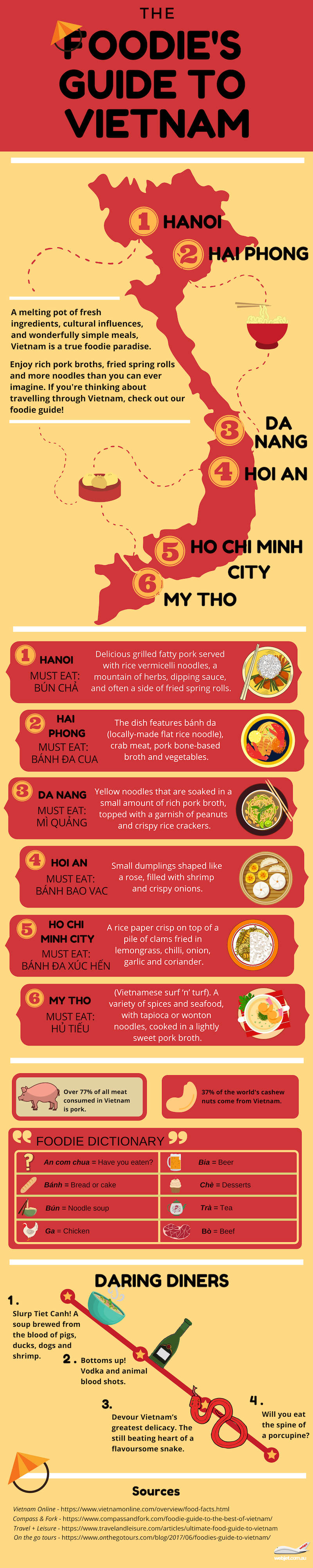 Vietnamese Cuisine: A Melting Pot of Flavors and Cultures - Infographic