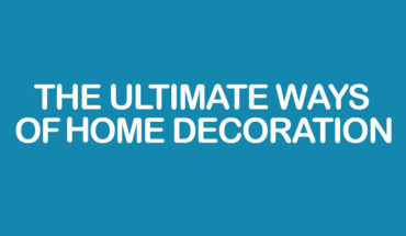 Amazing Décor Ideas for Your Home - Infographic