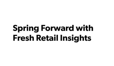 Spring Ahead: Online Retail Insights - Infographic