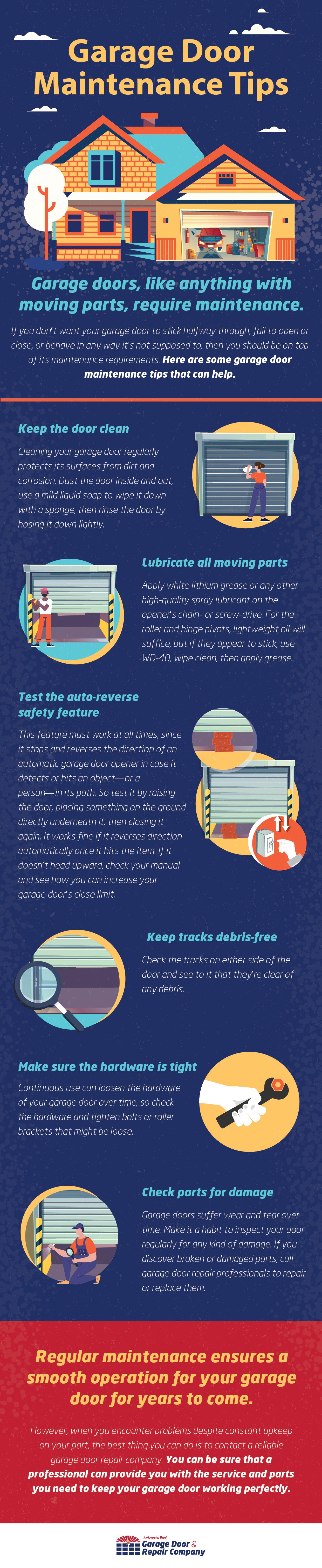 Why Your Garage Door Needs Regular Maintenance - Infographic