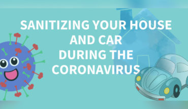 How To Keep Your House & Car Sanitized During Coronavirus - Infographic