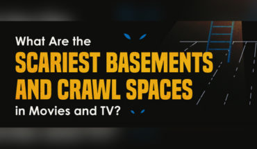 14 Movies/TV Shows That Had The Scariest Basement - Infographic