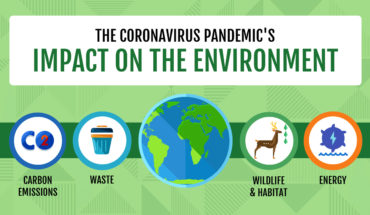 Advantages & Disadvantages Of The Coronavirus On Our Environment - Infographic