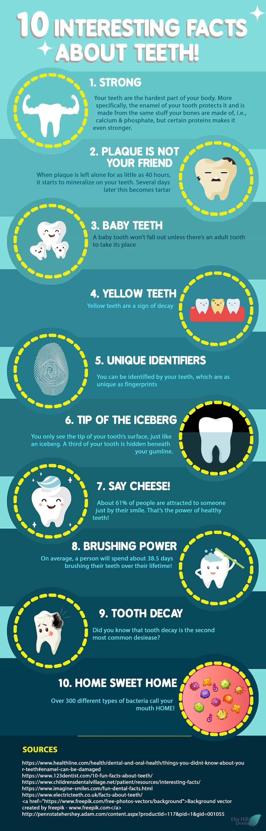 Did You Know These Facts About Your Teeth? - Infographic