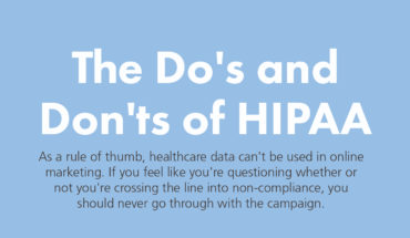 HIPAA: What Health Professionals Can And Can't Do - Infographic