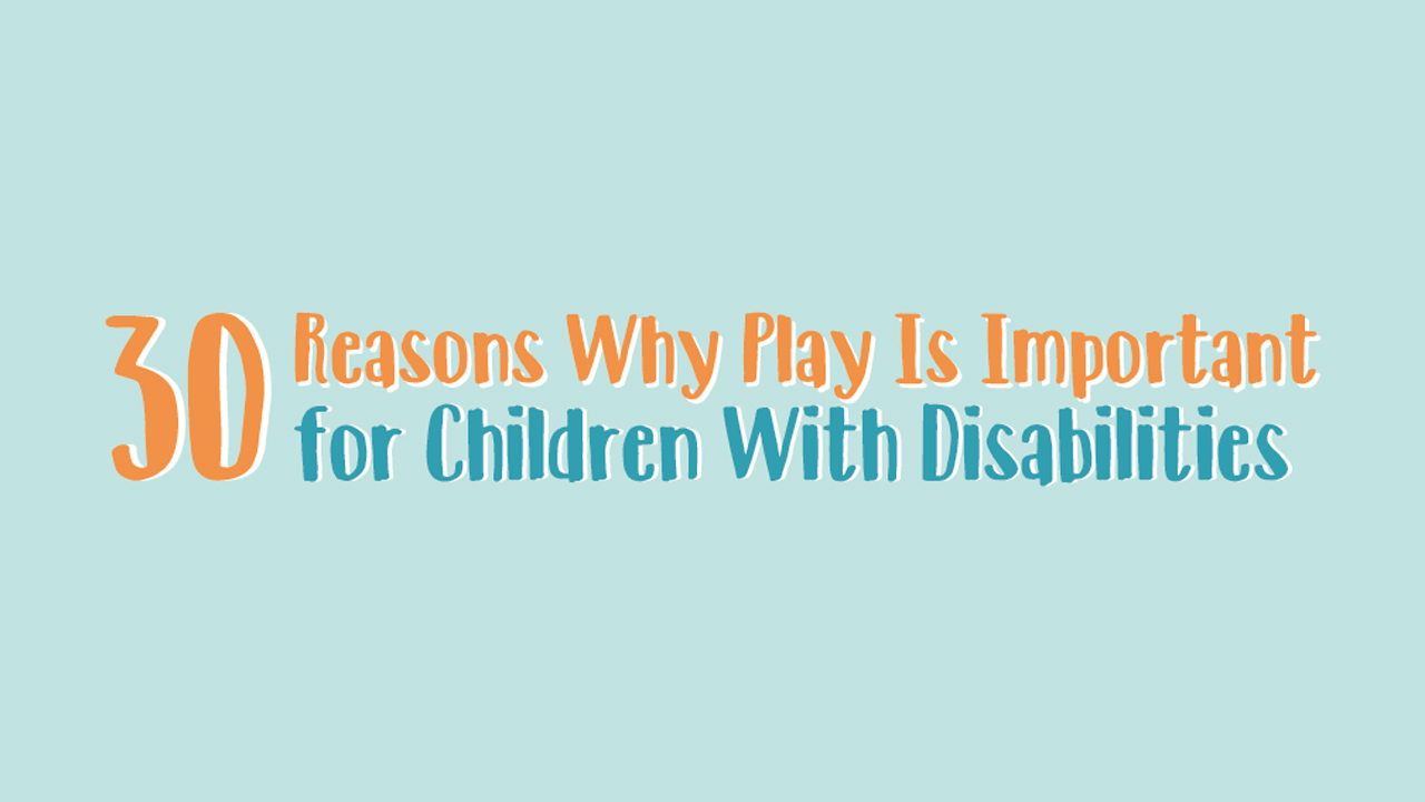 Here's How Playing Games Helps Children With Disability - Infographic