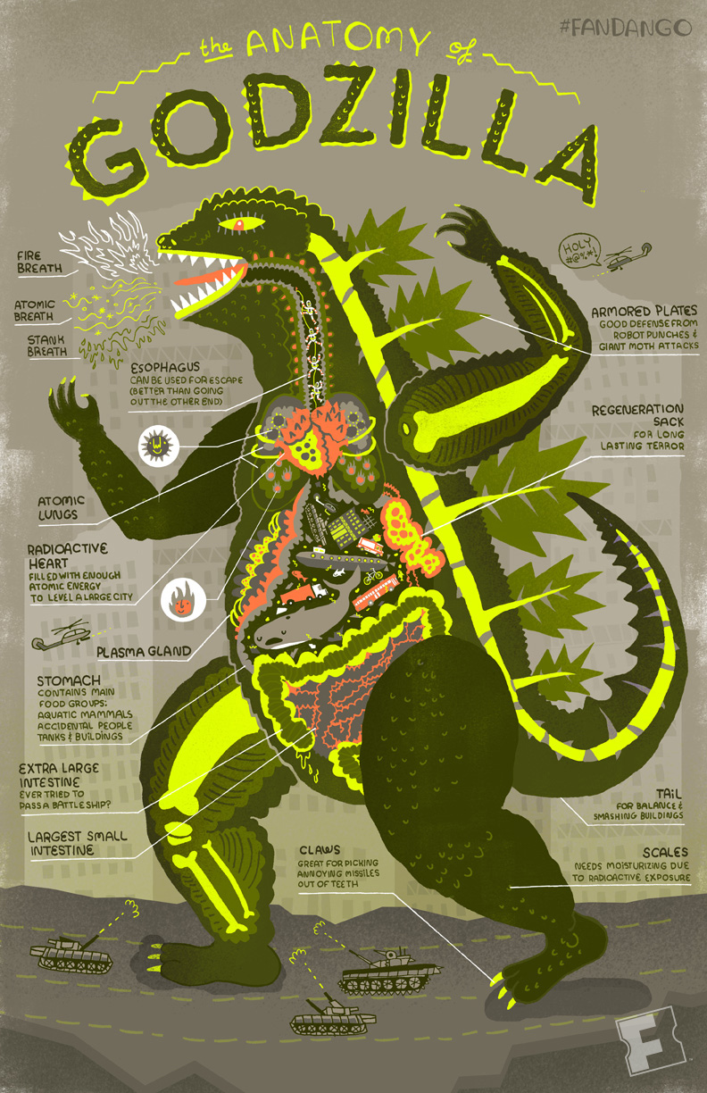 A Descriptive Anatomy Of Godzilla