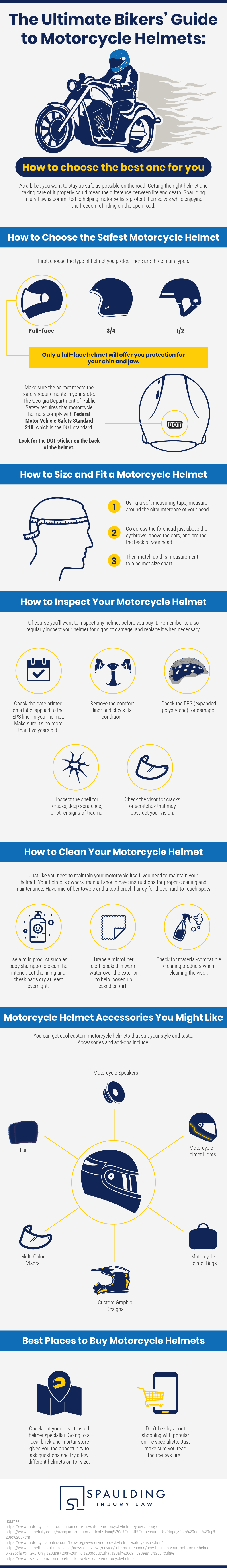 The Ultimate Riders' Handbook to Motorcycle Helmets